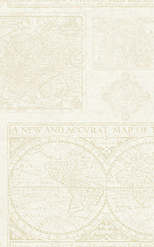 WALLQUEST / THE YACHT CLUB Antique Map YC61008