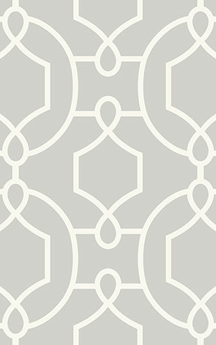 WALLQUEST / THE YACHT CLUB Large Geometric YC61110