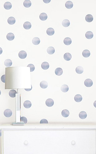 ウォールステッカー WALL POPS! / Holographic Confetti Dot Decals / WPD2036