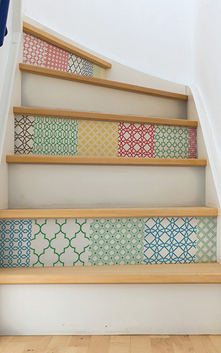 ウォールステッカー WALL POPS! / Stand Out Stair Decor Wall Art Kit / WPK1728