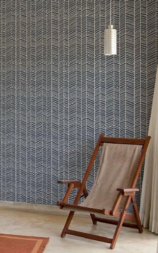 Wallpaper Republic Herringbone / WR0148JD-TB (thunderboltblue)