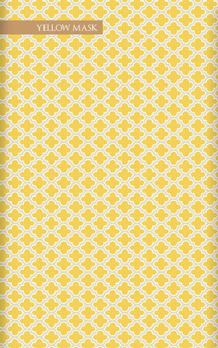 Wallpaper Republic Lodge Lattice / WR0150JD-YM (yellowmask)