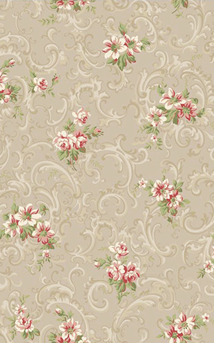 YORK / CALLAWAY COTTAGE Full Floral Scroll CT0808