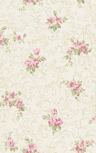YORK / CALLAWAY COTTAGE Full Floral Scroll CT0810