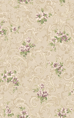 YORK / CALLAWAY COTTAGE Full Floral Scroll CT0812